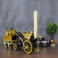 China Factory 1892 Rocket Steam Locomotive 1:24 SCALE Handmade Wholesale Metal Vintage Home Decor