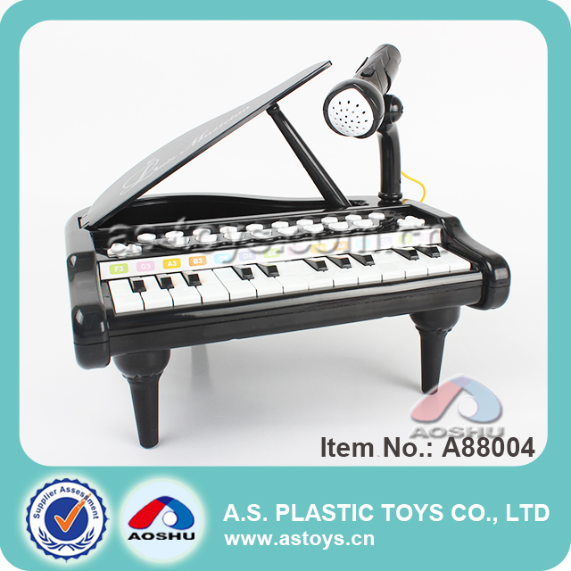 2017 new multi-function electronic organ kids toy piano with microphone