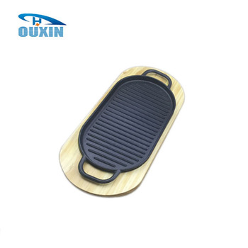 Cast iron dinner griddle plate for hotel/restaurant  sc 1 st  Alibaba & Cast Iron Dinner Griddle Plate For Hotel/restaurant - Buy PlateCast ...