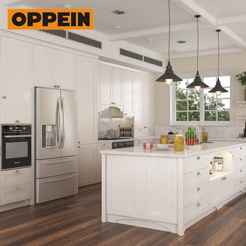 Oppein Carpentry High End Knock Down Kitchen Cabinets For Australia on