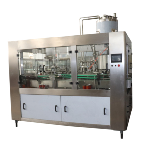Customized canned soda beverage filling machine / carbonated water drink bottling machine / csd making machine
