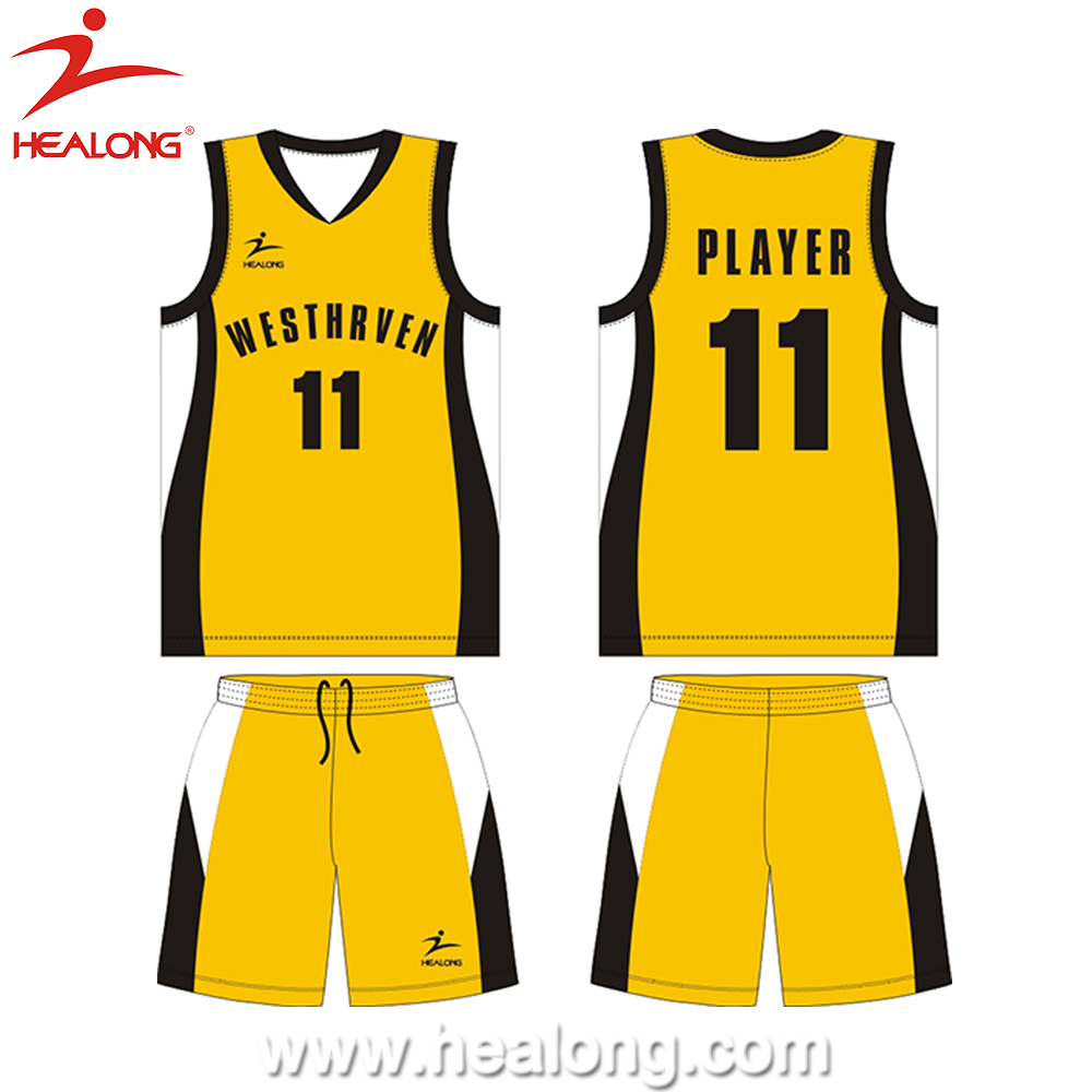 healong free latest basketball jersey designs any color basketball
