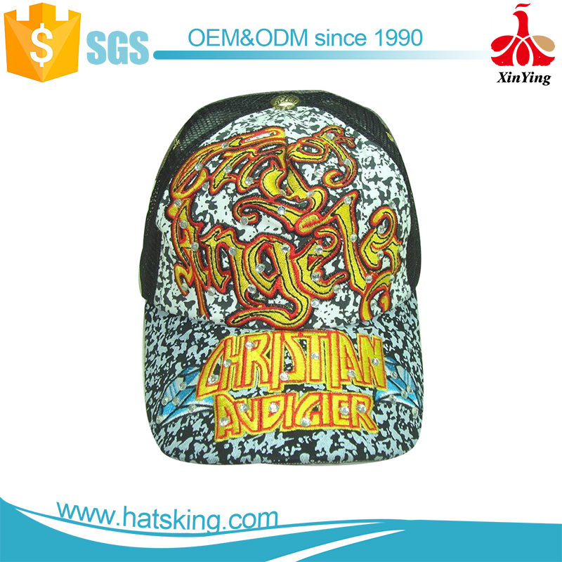 6 panels ed hardy wholesale baseball cap