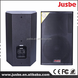 factory wholesale 8/10/12/15/18 inch Pole mount Pro Loudspeaker/ Floor Monitor Speaker DJ / PA / PRO Speaker 2 Way 8 Ohm Passive
