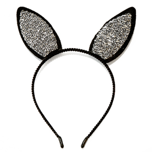 Led flashing donkey/rabbit/bunny ear headband