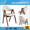 A026 Luxury design hotel chair, Antique curved wood chairs