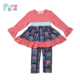 Bulk wholesale baby clothing toddler children's boutique outfits fashion baby girl fall winter clothes