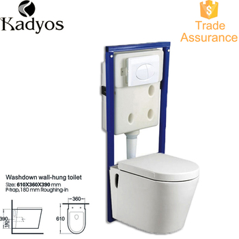 P Trap Toilet Modern Bathroom Design Wall Hung Bowl Kd 02wt Product On