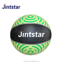 Custom colorful Rubber basketball with no logo