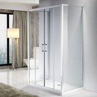 3 sided shower enclosure italian design shower box