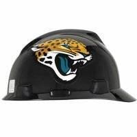 Mine Safety App - Standard V-Gard Hard Capw/Jacksonville Jaguars, Sold As 1 Each
