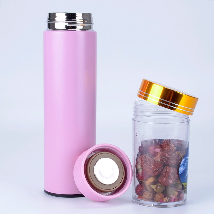 17OZ Stainless Steel Water Bottle Vacuum Insulated Metal Sport Gym Drinks Flasks