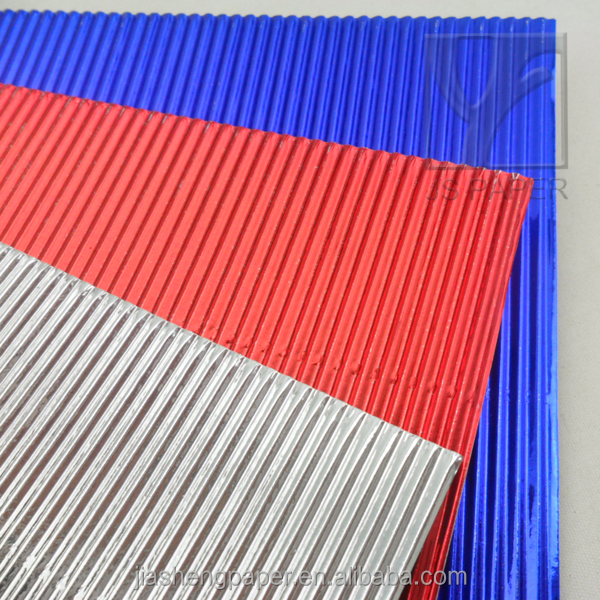 Two Layers Corrugated Cardboard Paper/metalic Corrugated Paper Sheet ...
