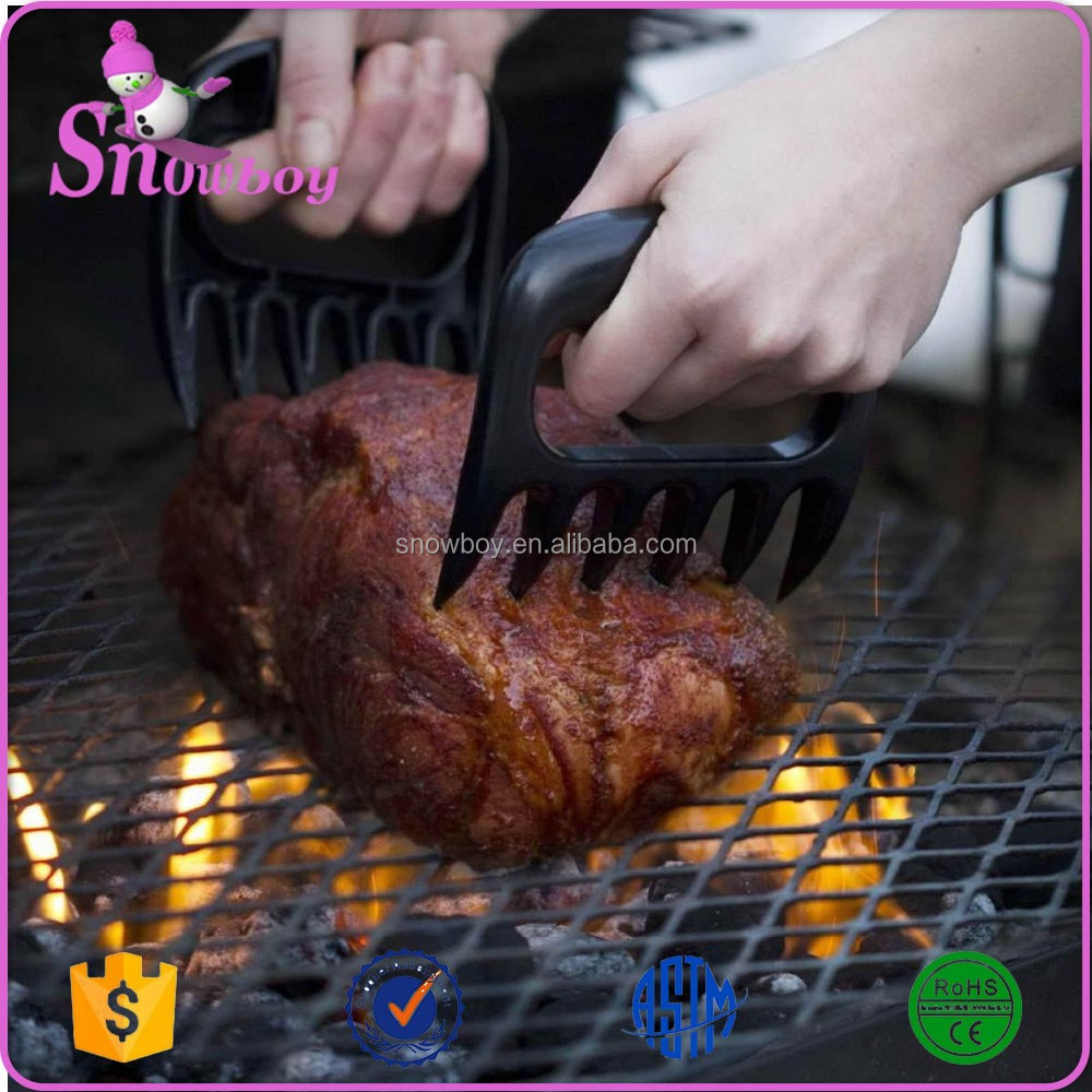 Original Food Grade BEAR PAWS Pulled Pork Meat Shredder Claws Grill Set Handler Forks BBQ Meat Claw