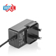110V- 240V EU type 12V 1A 2A power supply 24V 1A with EN60335 IEC60950 AC DC power adapter with CE GS TUV-BS