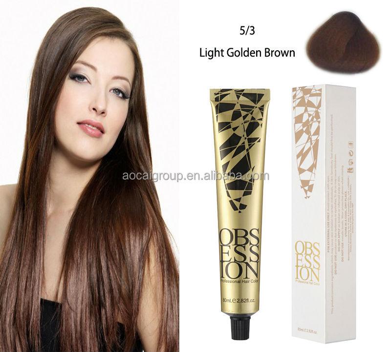 Permanent Special Effects Dark Blonde Hair Dye Chestnut Brown Hair
