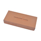 Foldable Brown Kraft Paper Boxes Flat Packed