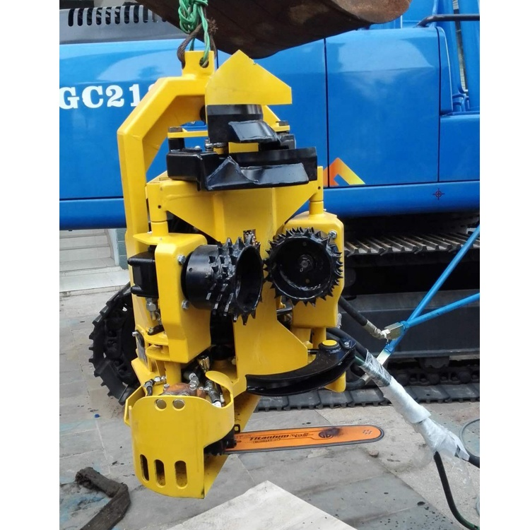 2019 hot sale high productivity excavator tree cutter Wheeled forest Harvesters