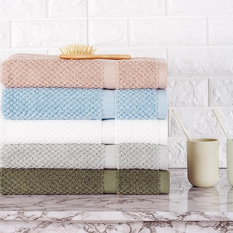 China fornecedores de toalhas de banho jacquard toalha de algodão Turco set Zhejiang