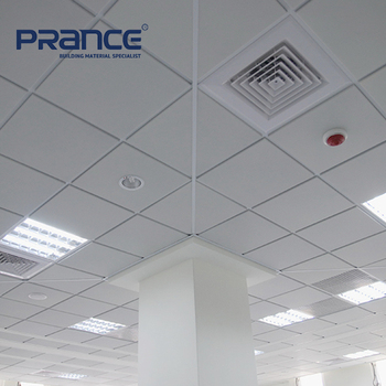 Paper Faced Pvc Laminated Gypsum Ceiling Tiles Price View