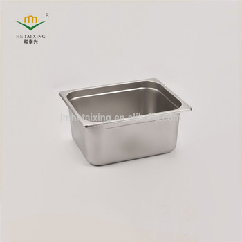 Kitchen Equipment Solid Buffet Insert Canteen Food Container With