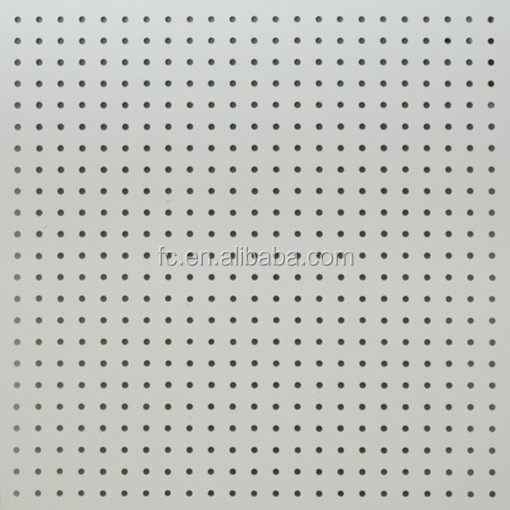 Calcium Silicate Sheet : Perforated calcium silicate board for sound absorbing