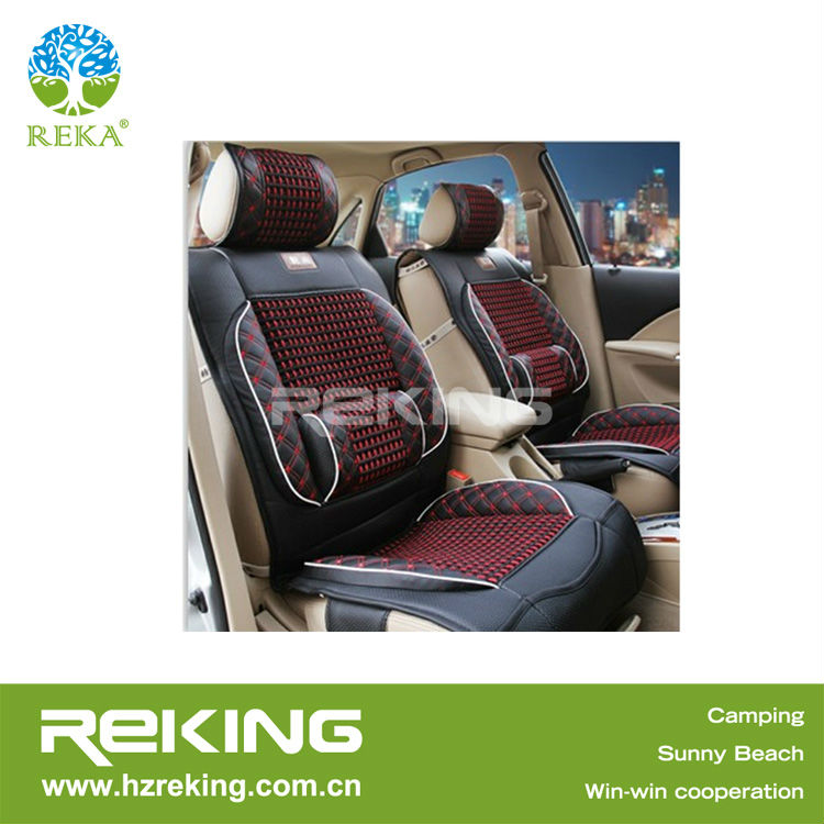 Car Seat Cushion Cover Leather with PVC Bag