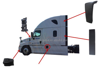 For Freightliner Cascadia Wind Deflector - Buy Cascadia Wind  Deflector,Freightliner Cascadia,Cascadia Air Deflector Product on  Alibaba com