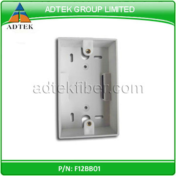 2 ports US type RJ45 Wall plates back box