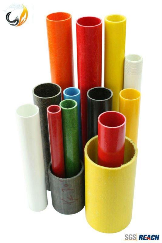 Tubo de frp grp varilla de fibra de vidrio o fibra de - Tubos fibra de vidrio ...
