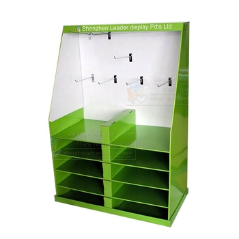 Promotional leader electronics cardboard display stand for retails