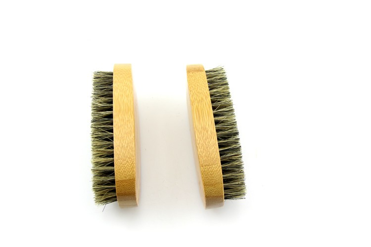 bambou barbe kit 100 sanglier poils barbe brosse et peigne pour la maison et voyage brosse. Black Bedroom Furniture Sets. Home Design Ideas