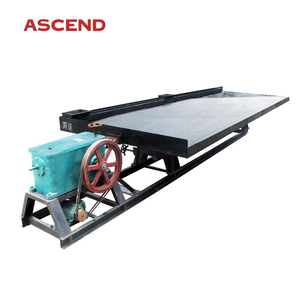 Popular gravity separation mining mineral ore shaking table for oxide chrome ore, antimony, tin