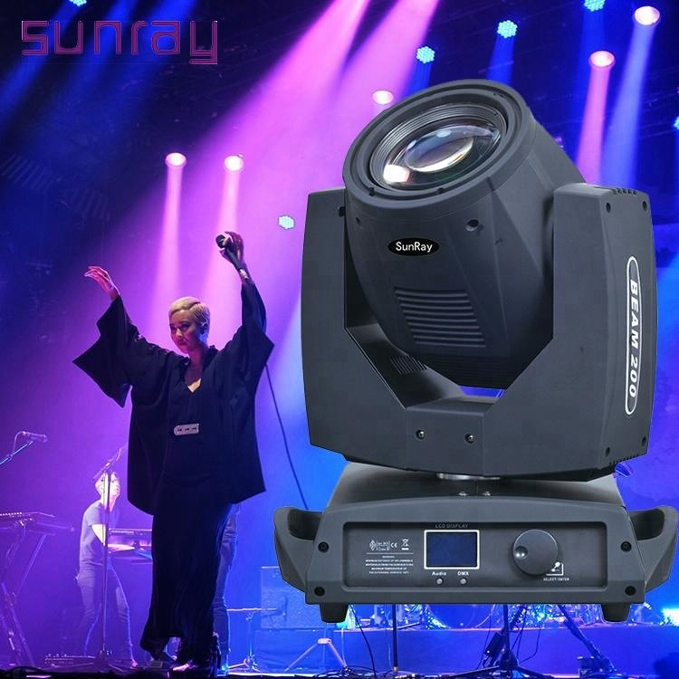 2 years warranty 16 channel dmx512 stage lamp Sharpy beam 200w 5r 230w 7r moving head light