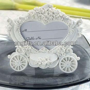 Elegant Wedding Return Gifts Souvenirs Of White Pumpkin Carriage