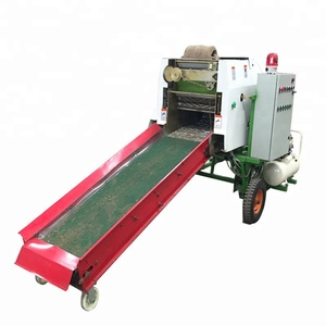Automatic farm wrapping grass hay/round silage bale warp machine with CE certification