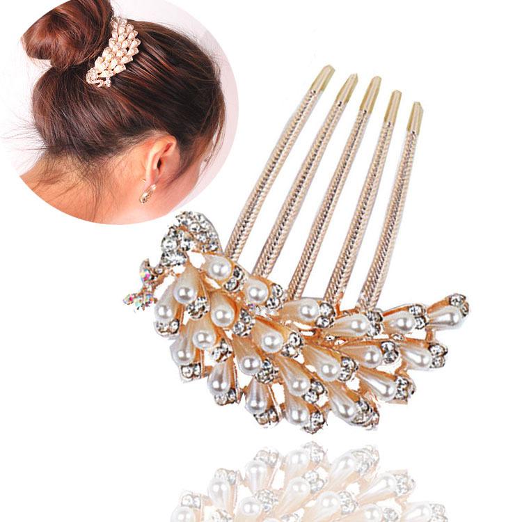 Women Girls Sequins Big Bowknot Barrette Hairpin Hair Clips Hair Bow vf