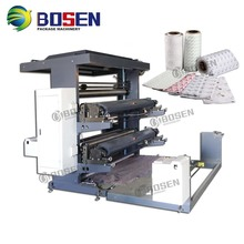 flexographic printing machine 2 color Price for Paper T-shirt Bag