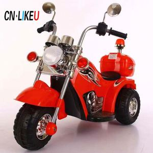 Baby ride on toy car 2 batteries 2 motors children electric motorcycle for kids