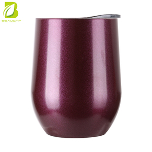 2018 beauchy stainless steel rose gold wine glass Tumbler
