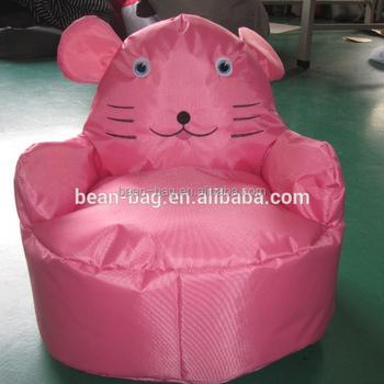 Animal Shaped Bean Bag Arm Chair