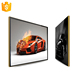 Metal shell 19inch wall mounted lcd advertising display led monitor with android system