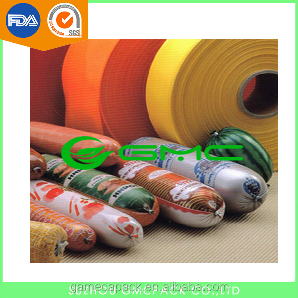 Extrusion Multilayer PVDC Casing Sheet Film for Sausage Packing