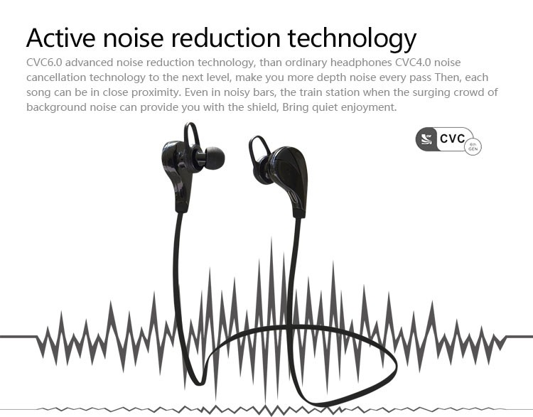 2016 New Style Factory Price Wireless Bluetooth Sport Earphone ...