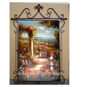 Vintage Wall Hanging Crafts Iron Art Framehome Decoration Arts And