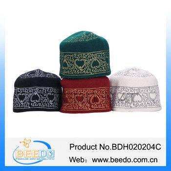 African Kufi Hat Woman Fashion Muslim Prayer Hats Islamic Caps - Buy ... fa7d3f894ad