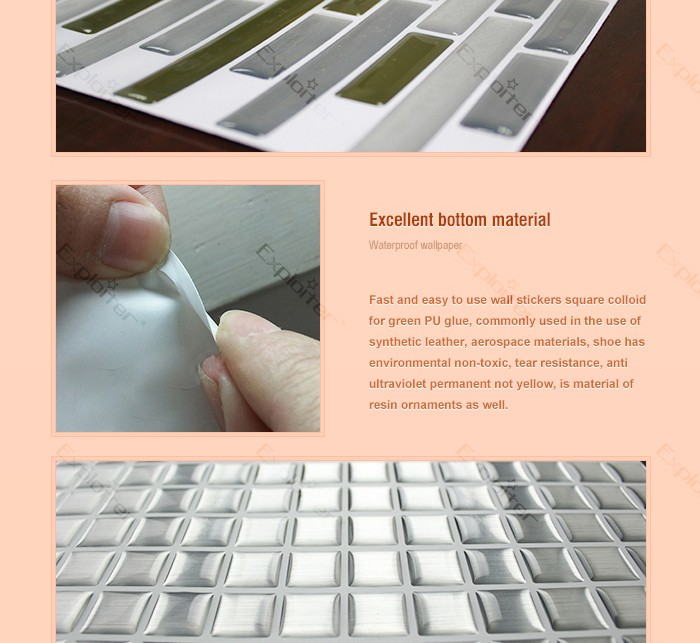 Self Adhesive Peel And Stick Vinyl Mosaic Review Update Your