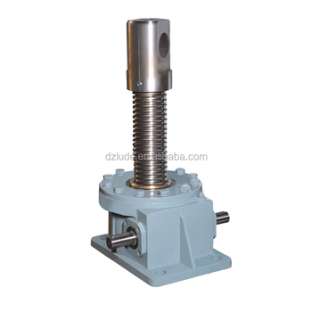 Precision Positioningself Locking Acme Screw Which Supports The