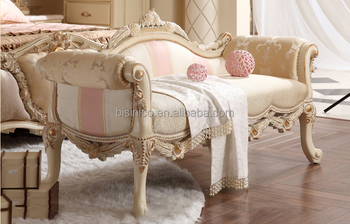 Phenomenal French New Classical Home Furniture Solid Wood Floral Carving Matching Bed Bench Buy Bench Bed Bench Solid Wood Bed Bench Product On Alibaba Com Machost Co Dining Chair Design Ideas Machostcouk
