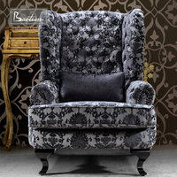 Vintage Style Sofa Chair Luxury Hotel Chair Foshan Furniture Wholesale
